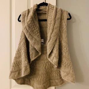 Anthropologie Sweater Vest